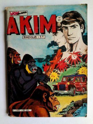 BD AKIM N°557 Un faux Akim - Editions MON JOURNAL 1982