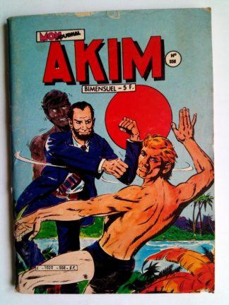 BD AKIM N°558 Le soleil levant - Editions MON JOURNAL 1982