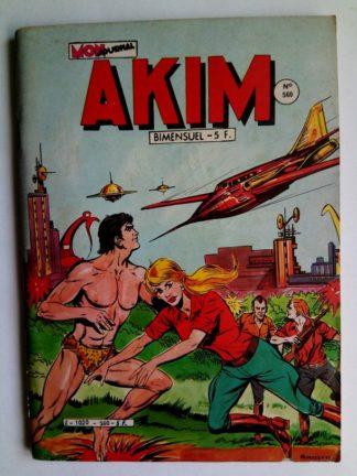 BD AKIM N°560 Maître du monde - Editions MON JOURNAL 1982