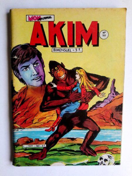 BD AKIM N°561 La voix de la montagne - Editions MON JOURNAL 1982
