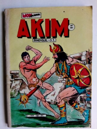 BD AKIM N°567 La lumière étincelante - Editions MON JOURNAL 1983