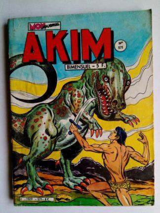 BD AKIM N°571 La coupe empoisonnée - Editions MON JOURNAL 1983