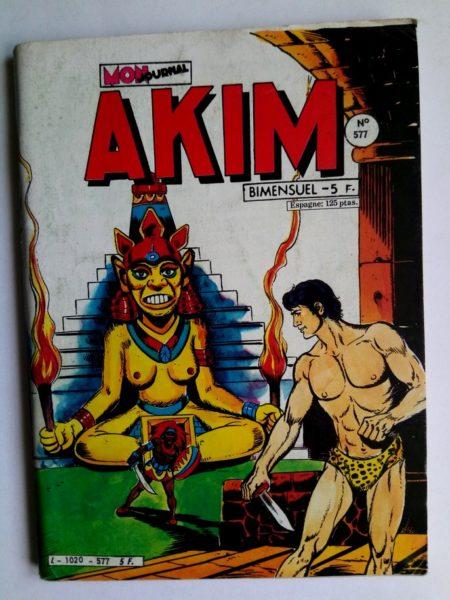 BD AKIM N°577 Le cachot du désespoir - Editions MON JOURNAL 1983