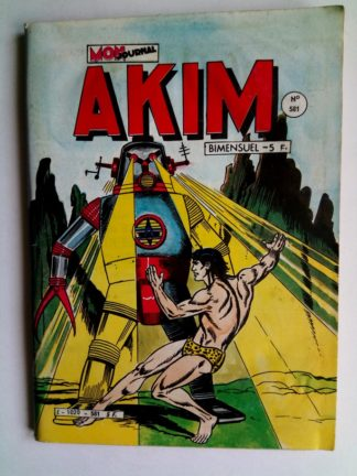 BD AKIM N°581 Les enfants de Neptur - Editions MON JOURNAL 1983