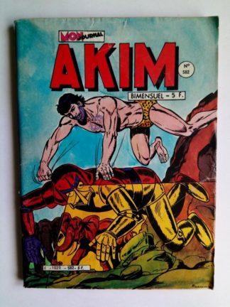 BD AKIM N°582 La flûte magique - Editions MON JOURNAL 1983