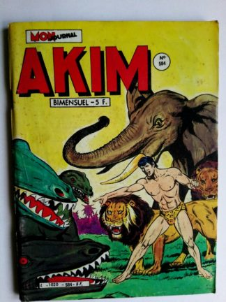 BD AKIM N°584 - LA COLLINE DE LA MORT LENTE (Mon Journal 1983)