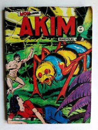 BD AKIM N°585 Intrigues dans les montagnes - Editions MON JOURNAL 198