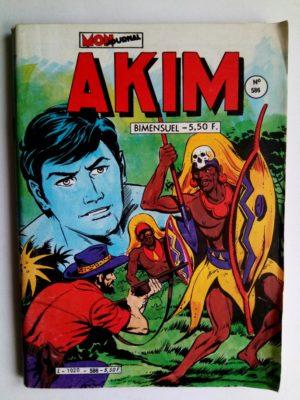 AKIM (1e série) N°586 – LA TOUR DES SERPENTS (Mon Journal 1984)
