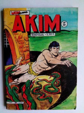 BD AKIM N°587 - L'ELIXIR DE LONGUE VIE (Mon Journal 1984)