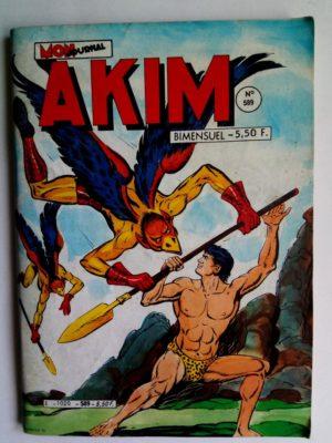 AKIM N°589 Le royaume du vautour - Editions MON JOURNAL 1984