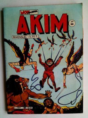 AKIM N°592 Echec au roi - Editions MON JOURNAL 1984
