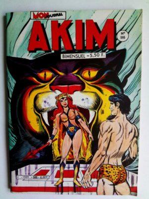 AKIM (1e série) N°595 – LA TABLETTE DE BRONZE (Mon Journal 1984)