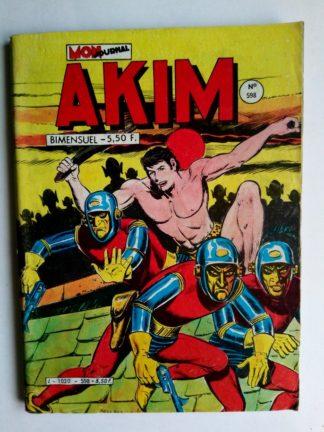 BD AKIM N°598 Bitors au palais dormant - Editions MON JOURNAL 1984