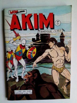 BD AKIM N°601 - LE ROYAUME QUI N'EXISTE PAS (Mon Journal 1984)