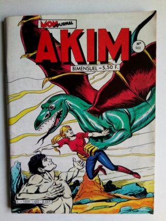 BD AKIM N°602 Les citrons de la liberté - Editions MON JOURNAL 1984