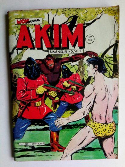BD AKIM N°609 Le grand faucon - Editions MON JOURNAL 1984
