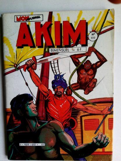 BD AKIM N°612 L'arbre des géants - Editions MON JOURNAL 1985