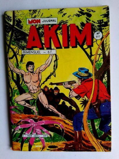 BD AKIM N°617 La formule de l'horreur - Editions MON JOURNAL 1985