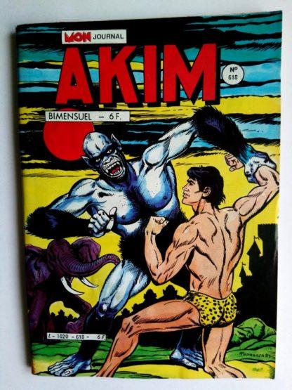 BD AKIM N°618 L'armée d'Akim - Editions MON JOURNAL 1985