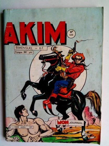 BD AKIM N°620 Le rêve de Motoub 1er - Editions MON JOURNAL 1985