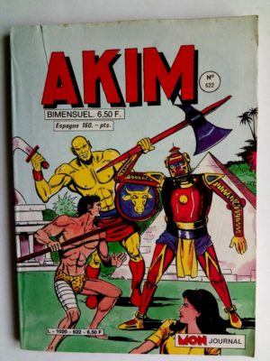 AKIM (1e série) N°622 Le refuge secret – Editions MON JOURNAL 1985