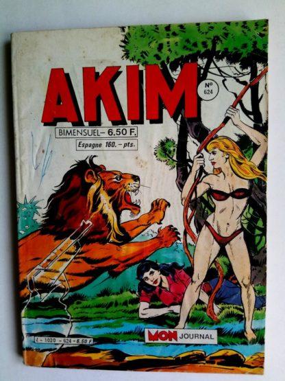 BD AKIM N°624 Sark le perfide - Editions MON JOURNAL 1985