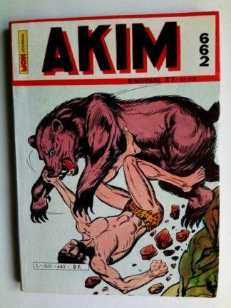 BD AKIM N°662 La formule de l'obéissance - Editions MON JOURNAL 1986