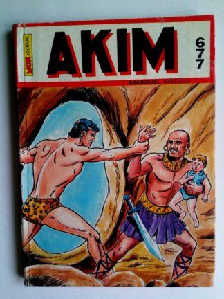 BD AKIM N°677 Les requins ont le dernier mot - Editions MON JOURNAL 1987