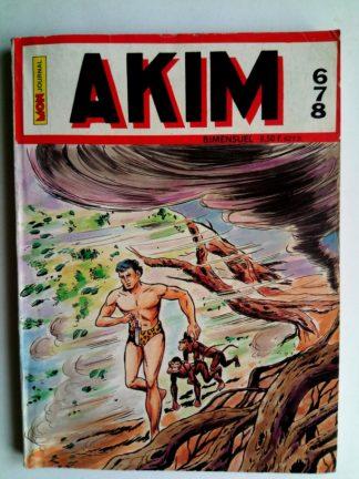 BD AKIM N°678 Le navire qui vole - Editions MON JOURNAL 1987