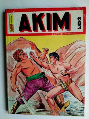 AKIM (1e série) N°683 – LE FER DE LA JUSTICE – Mon Journal 1988