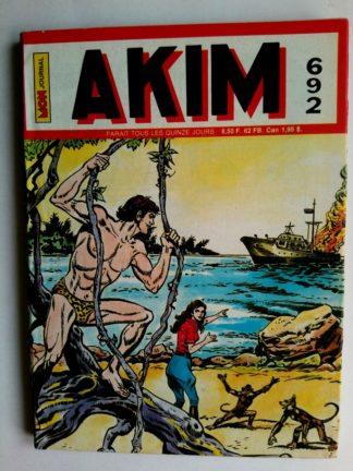 BD AKIM N°692 Le cargo de la mort - Editions MON JOURNAL 1988