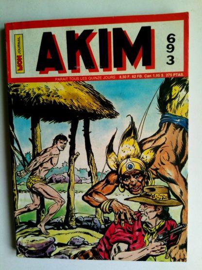 BD AKIM N°693 L'historique exploit de Zig - Editions MON JOURNAL 1988