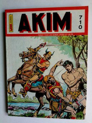 BD AKIM N°710 L'île aux brumes - Editions MON JOURNAL 1989