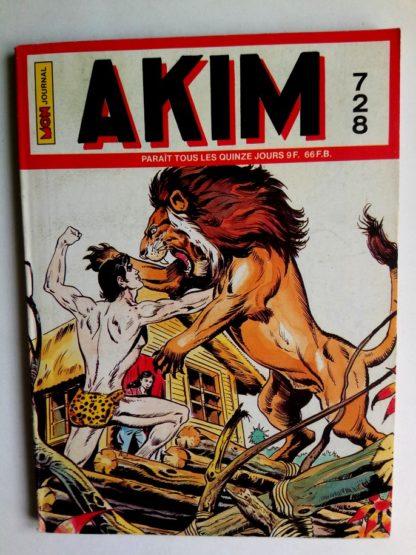 BD AKIM N°728 Les démons des ténèbres - Editions MON JOURNAL 1989