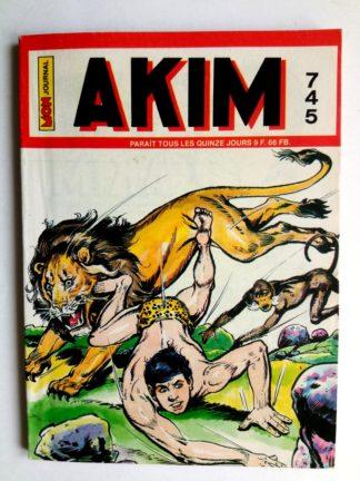 BD AKIM N°745 Graanh le justicier - Editions MON JOURNAL 1990