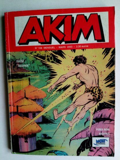 BD AKIM 2E SERIE N°108 Atomix - Editions MON JOURNAL 2003