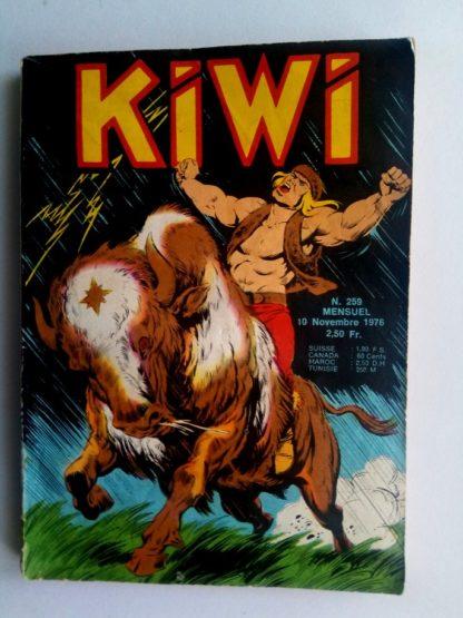 BD kiwi n°259 Le Petit Trappeur - Pas même une bête (2) LUG 1976