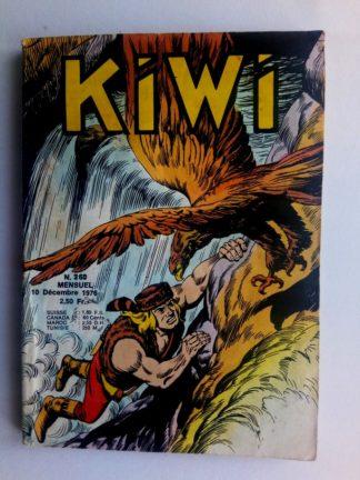 kiwi n°260 Le Petit Trappeur (La momie) LUG 1976