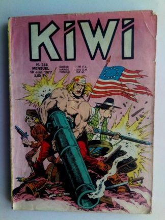 kiwi n°266 Le Petit Trappeur (Saratoga) LUG 1977