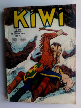 kiwi n°270 Le Petit Trappeur (Je vaincrai Blek) LUG 1977