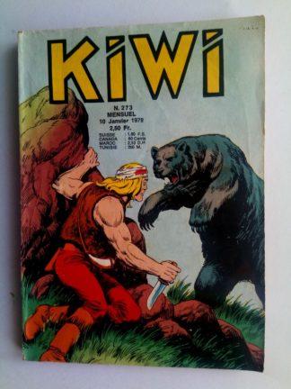 BD kiwi n°273 Le Petit Trappeur (Le monstre) LUG 1978