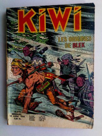 BD kiwi n°279 Le Petit Trappeur (Les origines de Blek - 2e partie)