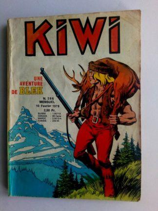 BD kiwi n°286 Le Petit Trappeur (Les mystères de Boston) LUG 1979