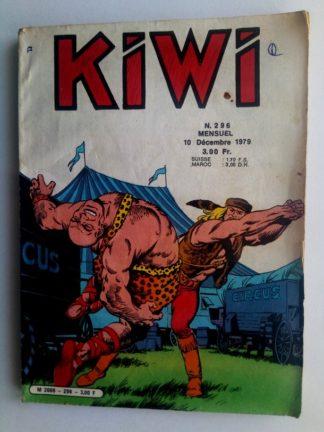 BD kiwi n°296 Le Petit Trappeur (Pour une poignée de sterlings) LUG 1979