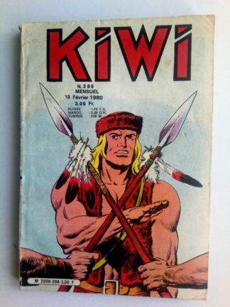 BD kiwi n°298 Le Petit Trappeur (Les pirates de la rivière) LUG 1980