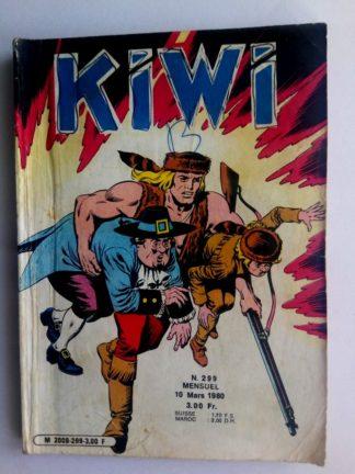 BD kiwi n°299 Le Petit Trappeur (La route de l'enfer) LUG 1980