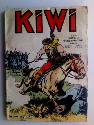 BD kiwi n°305 Le Petit Trappeur (Le pont sur la GREEN RIVER) LUG 1980