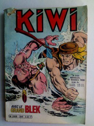BD kiwi n°306 Le Petit Trappeur (Les sept travaux de Blek) LUG 1980
