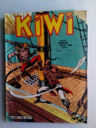 BD kiwi n°322 Le Petit Trappeur (Assaut sur l'île de Coot) LUG 1982