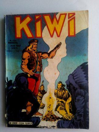 BD kiwi n°324 Le Petit Trappeur (La montagne piégée) LUG 1982